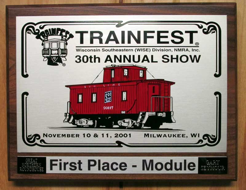 first place, modules, Trainfest 2001